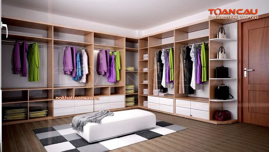 mẫu tủ quần áo hiện đại