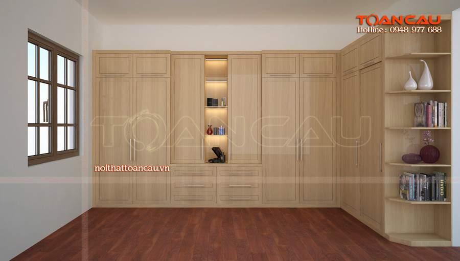 Tủ quần áo gỗ giá rẻ tại Hải Phòng cho nhà hiện đại