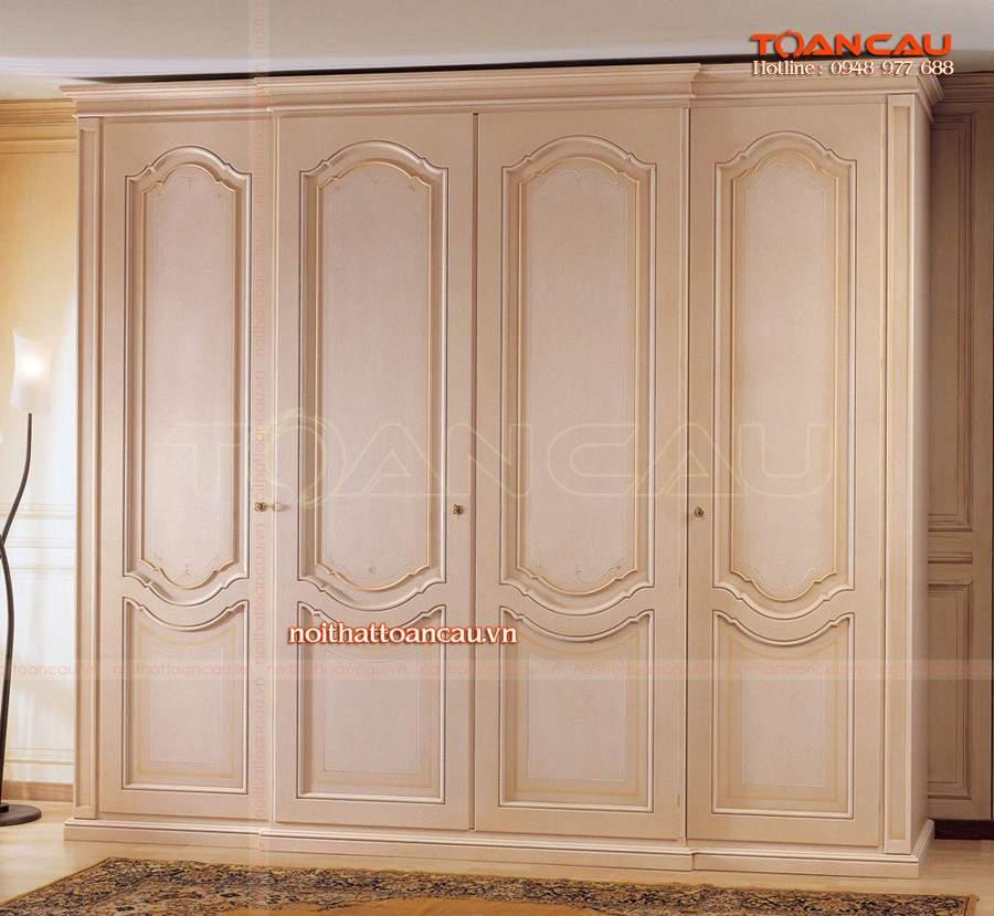 thiết kế tủ quần áo đa năng cho không gian nhà ưng ý