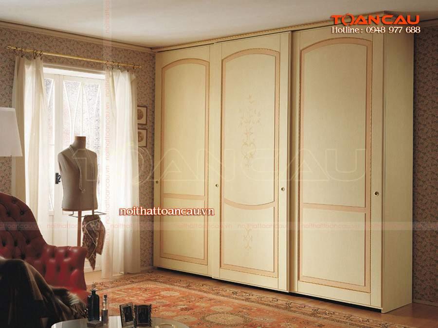 thiết kế tủ quần áo hiện đại đúng với nhu cầu