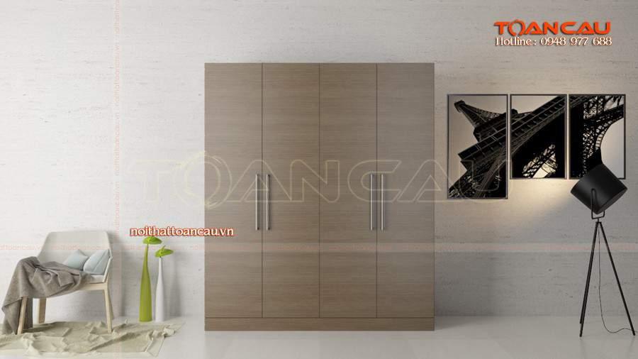 Tủ quần áo gỗ đẹp Đà Nẵng đẹp với mọi nhà