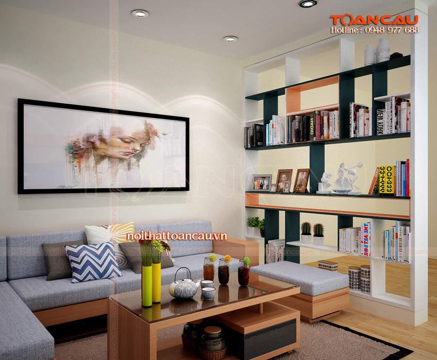 Các kiểu tủ trang trí phòng khách đẹp nhất