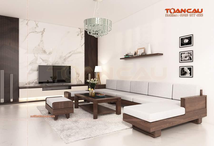 Phòng khách đơn giản mà đẹp như ý
