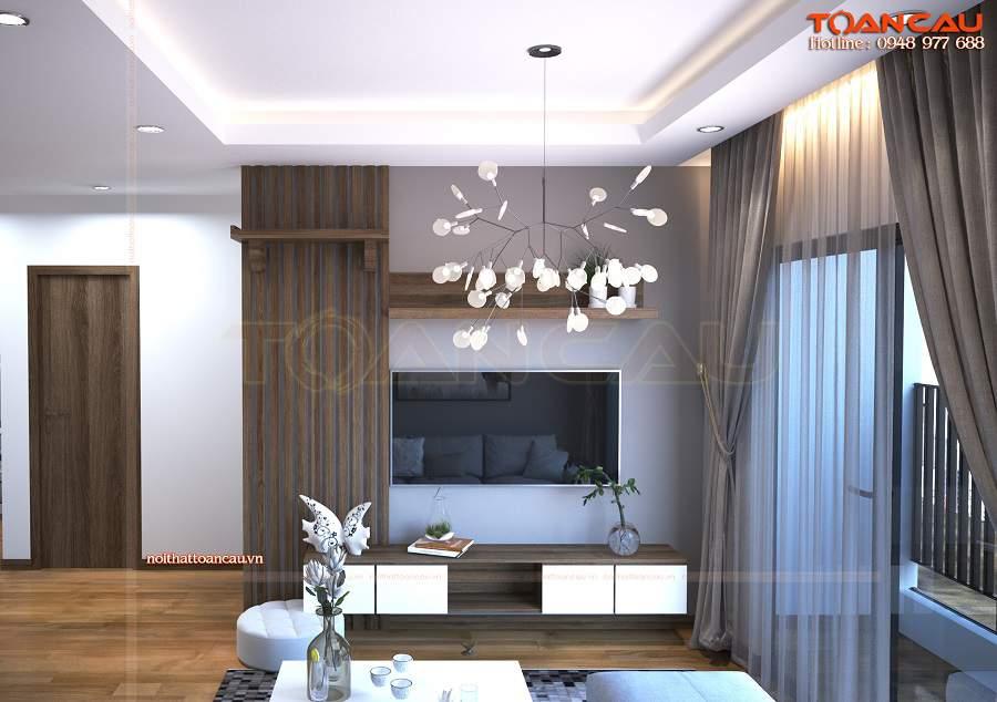 Mẫu trang trí phòng khách đẹp như ý