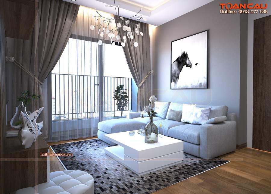 Trang trí phòng khách đơn giản