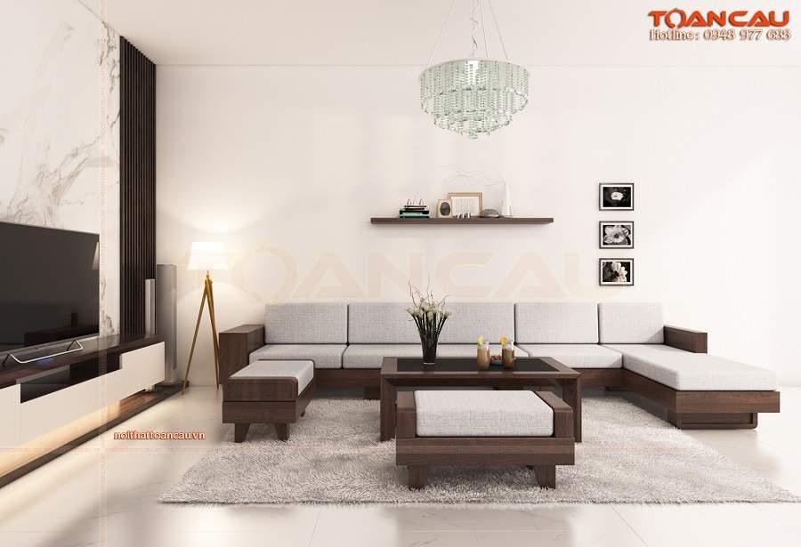 Trang trí phòng khách nhỏ hiện đại