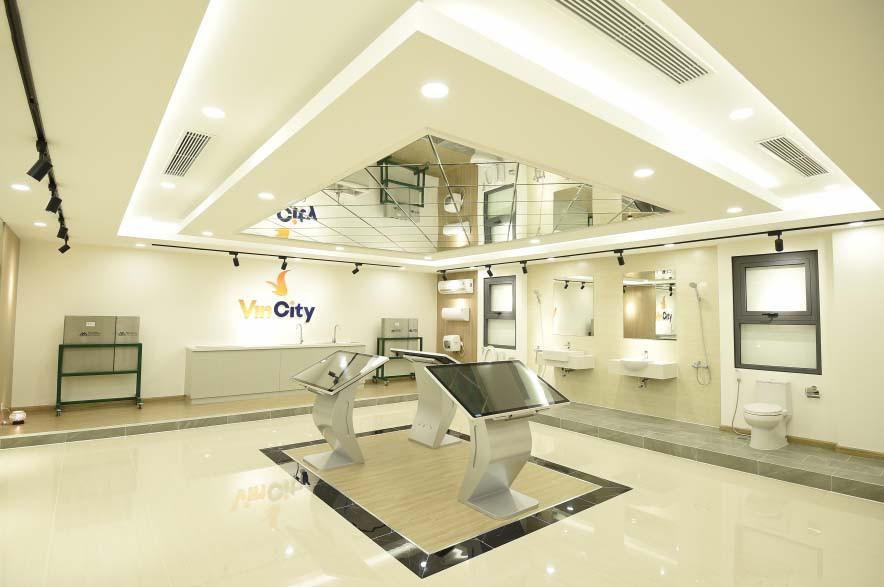 Khu căn hộ mẫu dự án Vincity Ocean Park được thiết kế hiện đại, sang trọng khiến khác hàng vô cùng thích thú