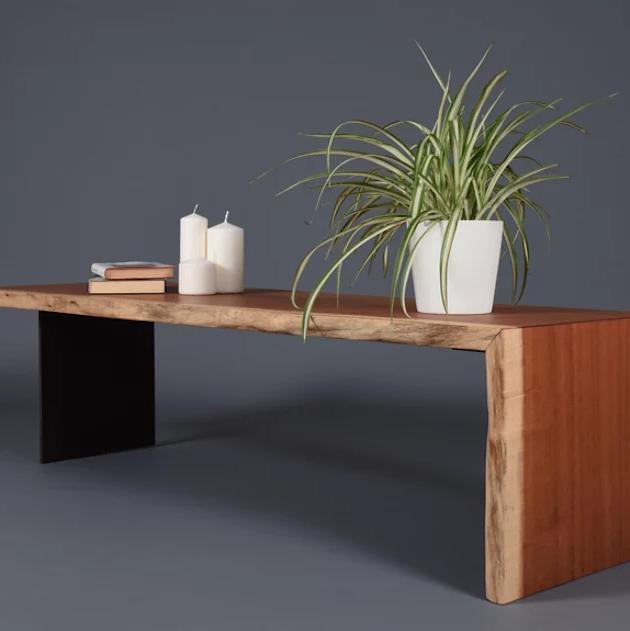 Bàn cafe hiện đại bằng gỗ cứng trang trí cho phòng khách