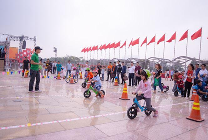 Các hoạt động thể thao bổ ích tại Ngày hội Gia đình của VinCity Sportia