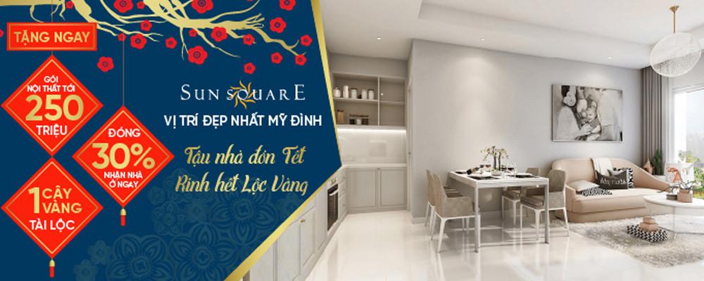 Chính sách bán hàng dự án Sun Square