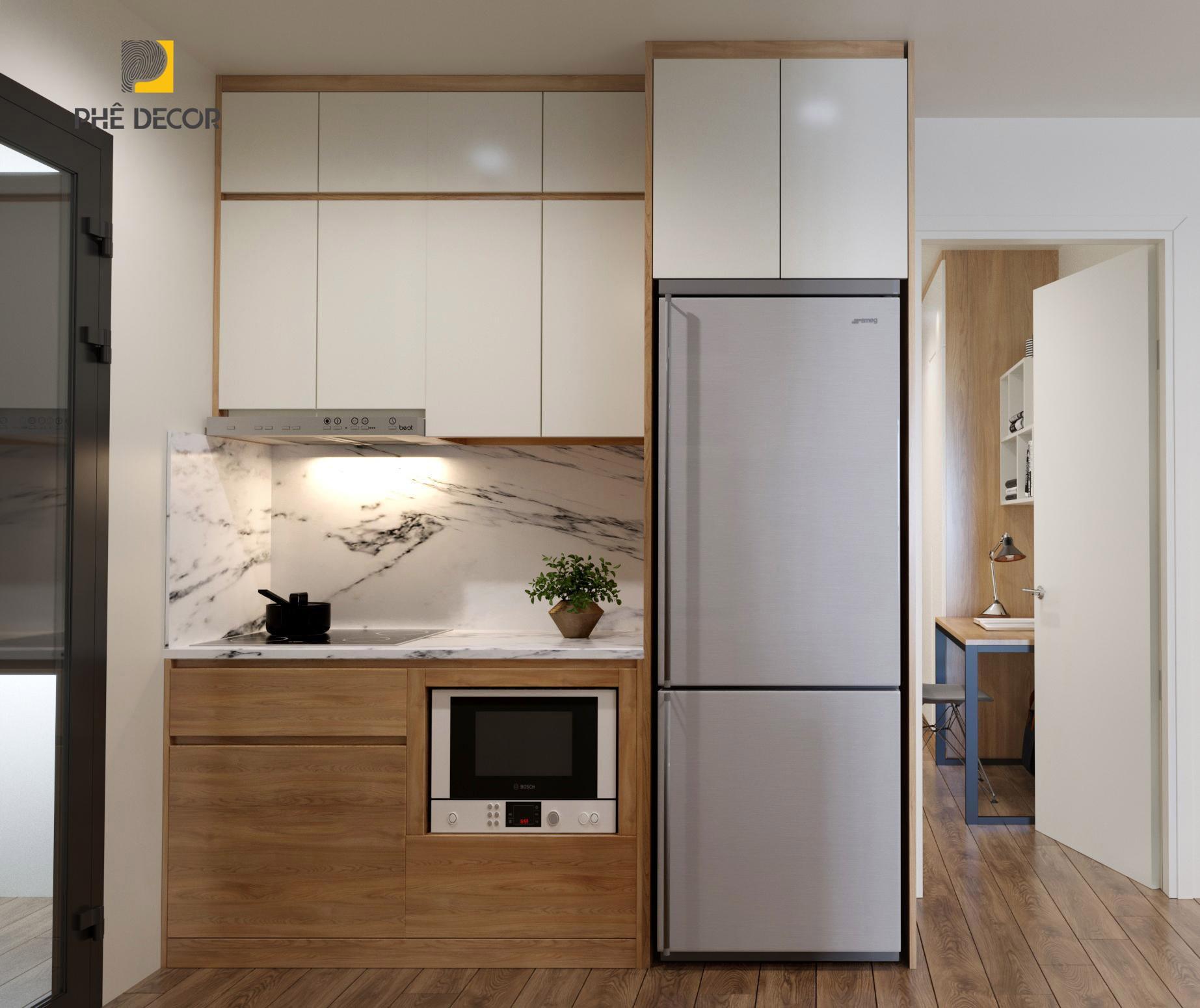 thiết kế thi công tủ bếp hiện đại