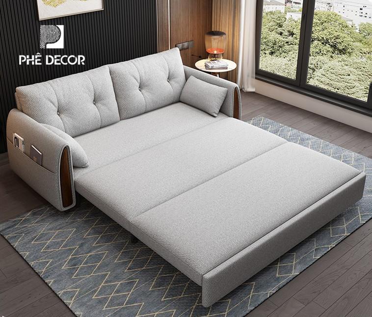 sofa giường Bắc Âu gấp gọn