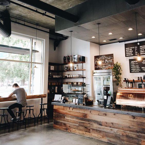 Cách trang trí quán cà phê đẹp và độc đáo nhiều người ưa chuộng 4