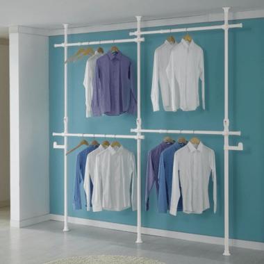 cách treo quần áo tiết kiệm diện tích