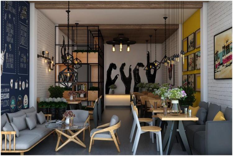 Các mẫu đèn trang trí dànhcho quán cafe hiện đại