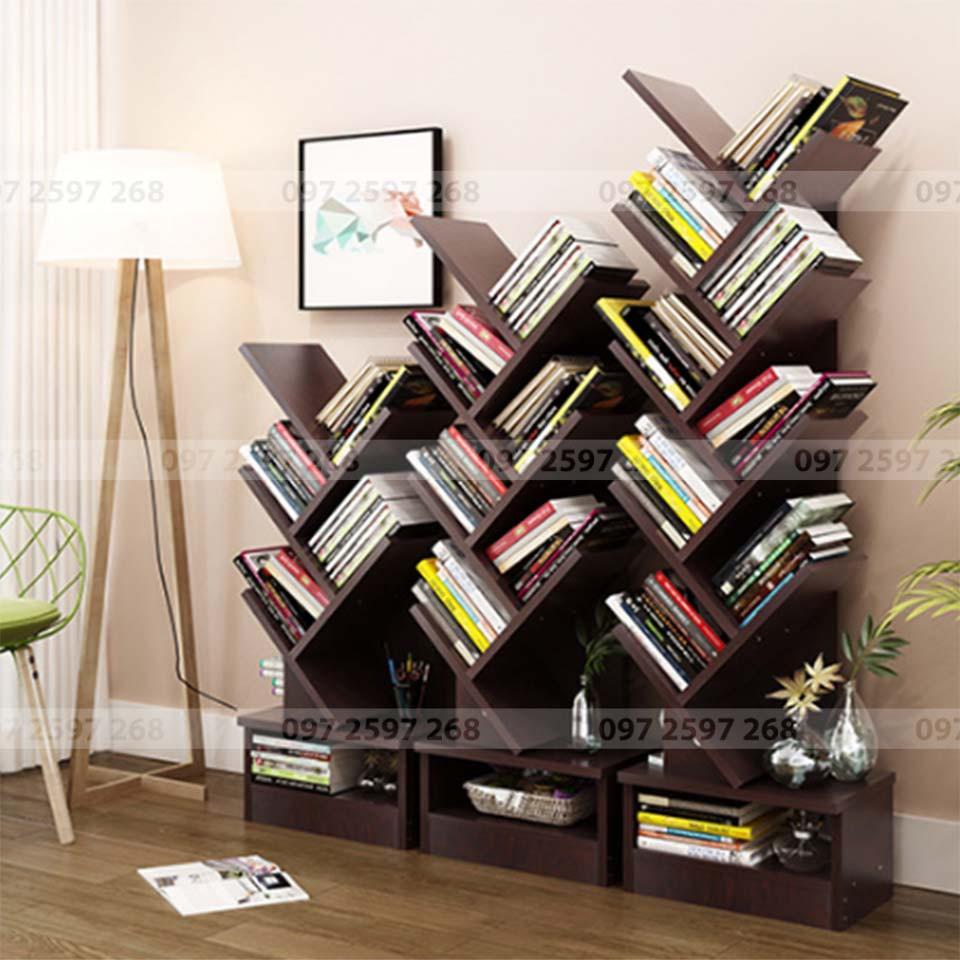 kệ đựng sách treo tường