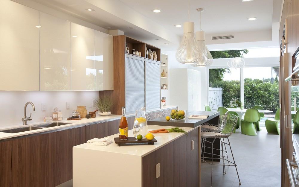 Khắc phục và trang trí nội thất phòng bếp nhỏ