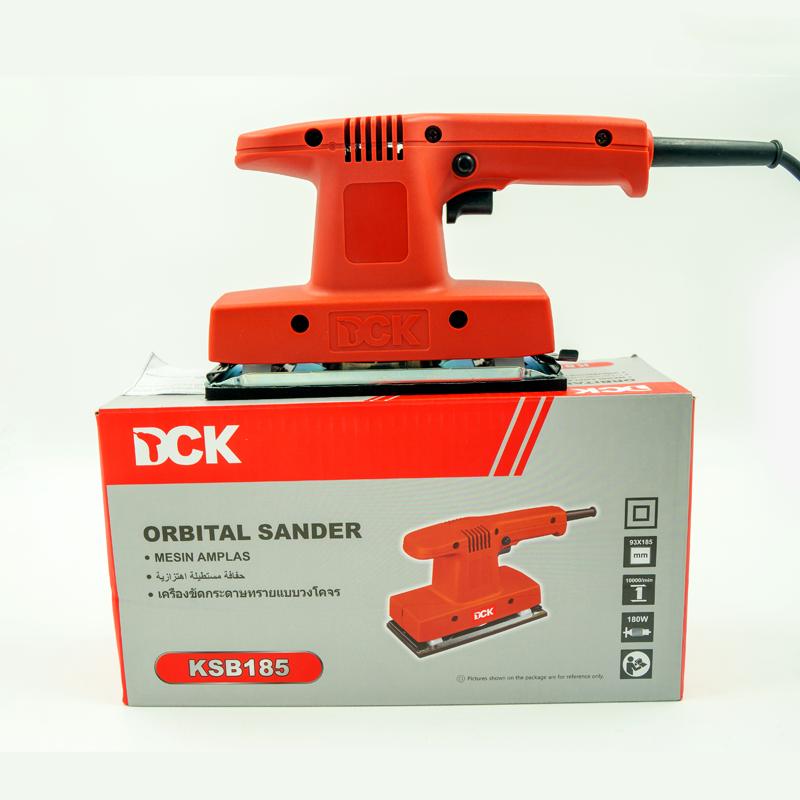 Máy chà nhám rung chữ nhật chạy điện DCK - KSB185