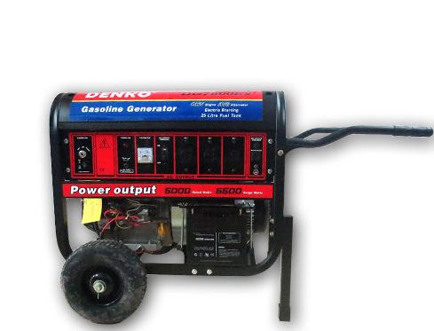 Máy Phát điện chạy xăng DENKO DG7800E2 (Có đề)