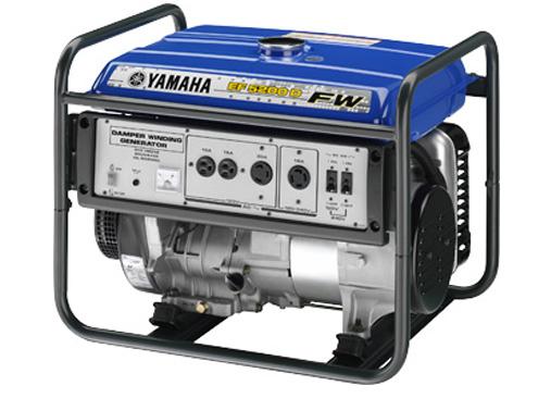 Máy phát điện chạy xăng YAMAHA EF5200EFW (Có đề)