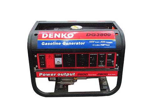 Máy Phát điện chạy xăng DENKO DG3800
