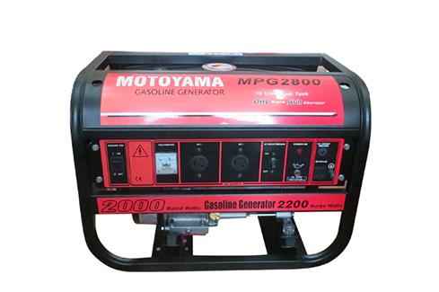 Phát điện chạy xăng MOTOYAMA MPG 2800E2 (Có đề)