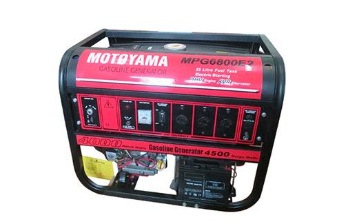 Phát điện chạy xăng MOTOYAMA MPG 6800E2 (Có đề)