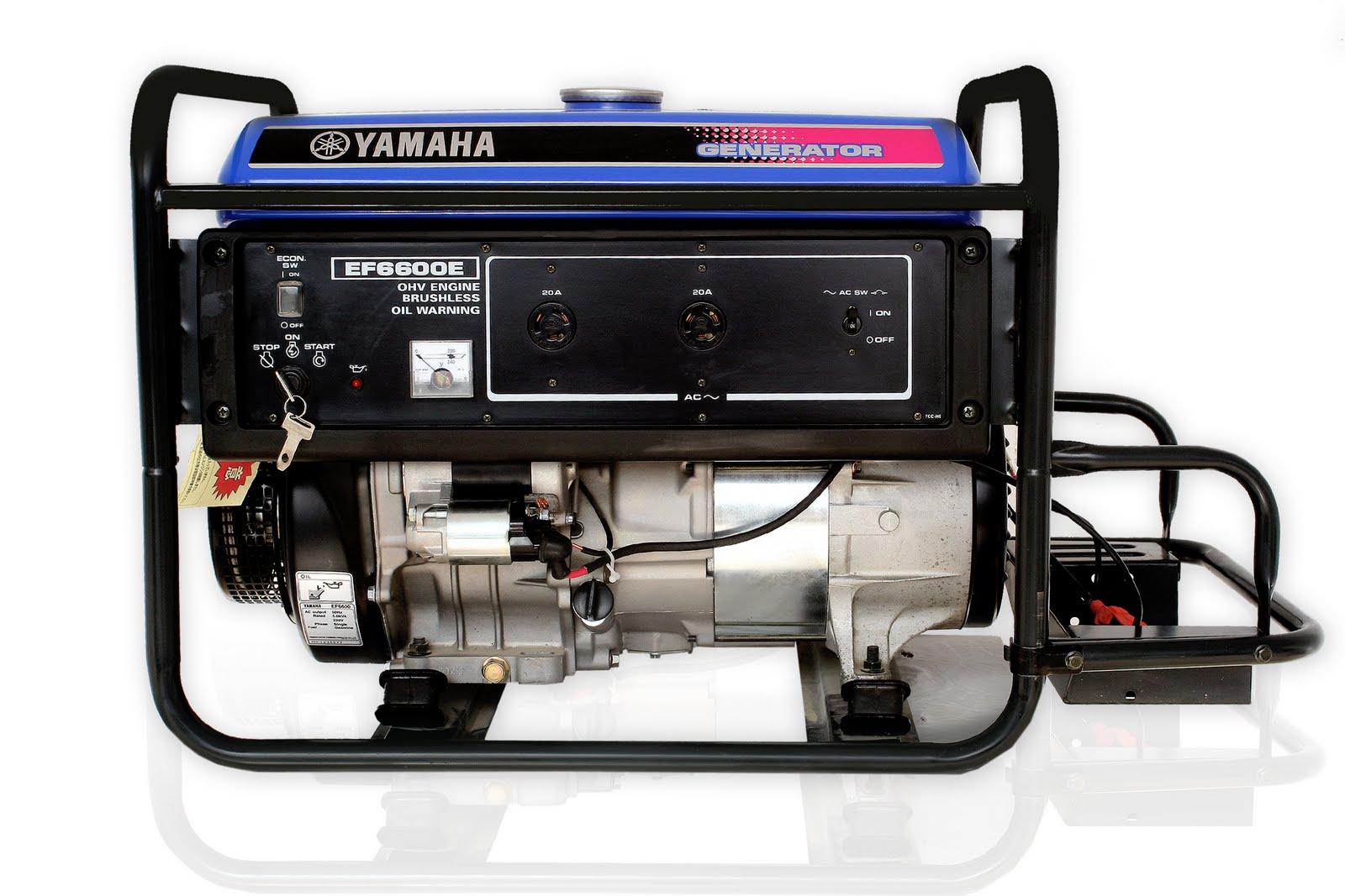 Phát Điện chạy xăng YAMAHA EF6600 (ko đề)