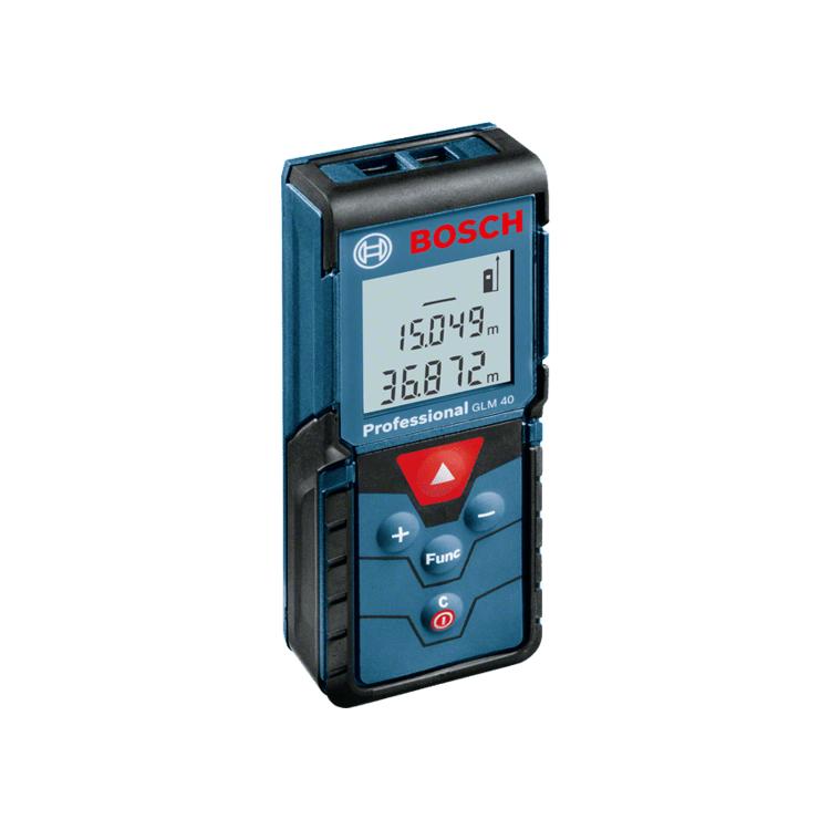 Máy đo Laser BOSCH GLM40 105x41x24MM