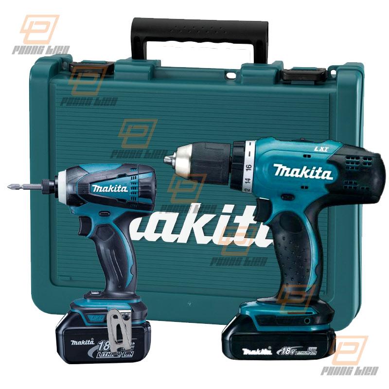 Bộ sản phẩm dùng pin MAKITA (DDF453+DTD149) DLX2240 (18V)