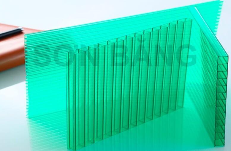 Tấm Lợp Lấy Sáng Thông Minh Poly Rỗng Ruột Solarlite