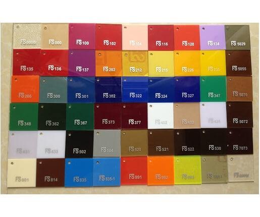Tấm Nhựa Mica Fusheng (FS) Đài Loan