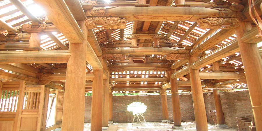 Kiến trúc nhà gỗ Bắc Bộ - Nét văn hóa độc đáo