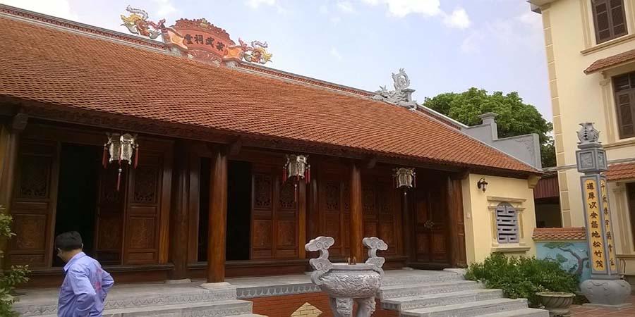Nhà gỗ lim 3 gian cổ truyền nét đẹp truyền thống Việt Nam