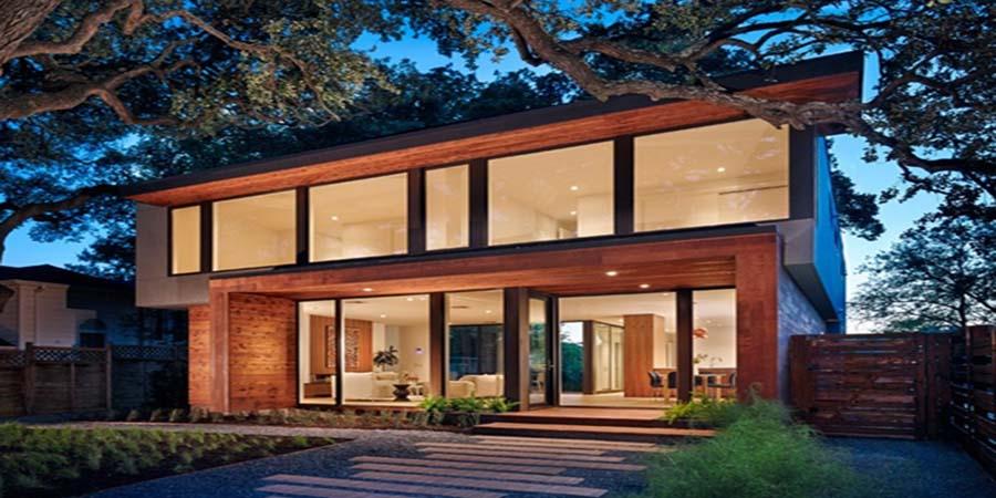 Thiết kế nhà gỗ hiện đại và độc đáo 1