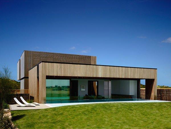 Mẫu nhà gỗ đơn giản tại ven biển Victoria, Australia
