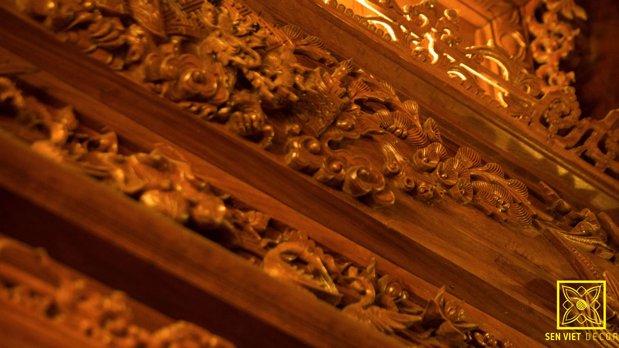 Thiết kế nhà gỗ lim 3 gian cổ truyền