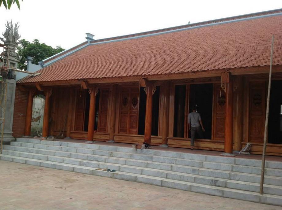 Căn nhà gỗ cổ truyền 4 tỷ ở Phú Lộc – Đắk Lắk