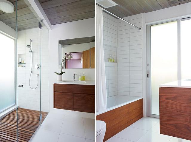 Những chiếc tủ lưu trữ ở sàn nhà và trần nhà