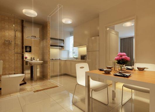 Tránh những căn hộ có bếp và nhà tắm gần nhau
