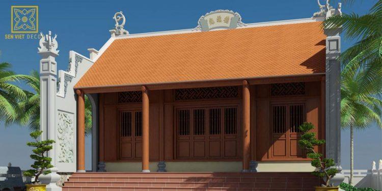 Mẫu nhà thờ 3 gian