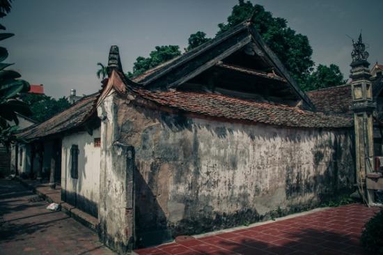 Ngôi nhà được coi là ngôi đình thứ hai của làng Vẽ