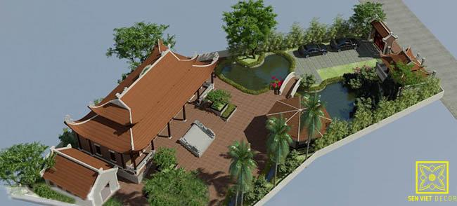 Nhà thờ họ của ông Nguyễn Văn Nam tại Phú Thọ