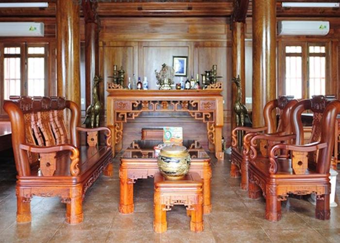 Chiêm ngưỡng nhà gỗ hương trị giá 30 tỷ của đại gia Nghệ An