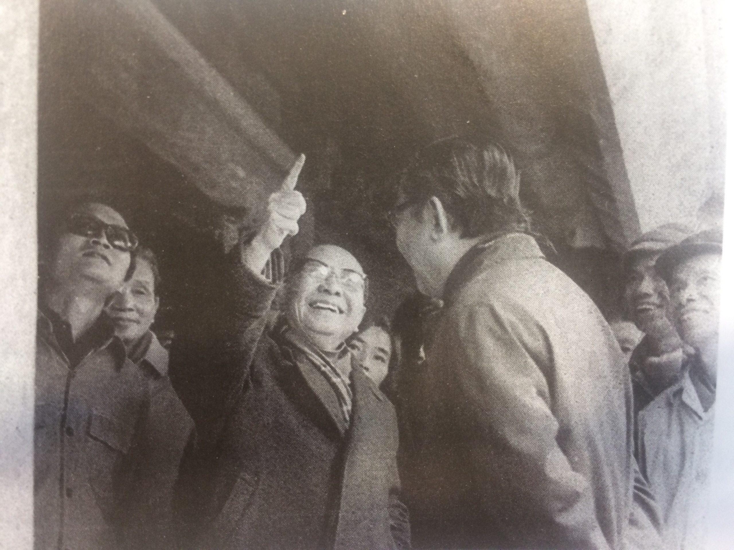 Đồng chí Trường Chinh về thăm đình năm 1980