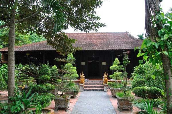 Kiến trúc nhà gỗ cổ truyền Nam Bộ