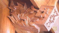 Nhà gỗ 5 gian vùng Tây Bắc