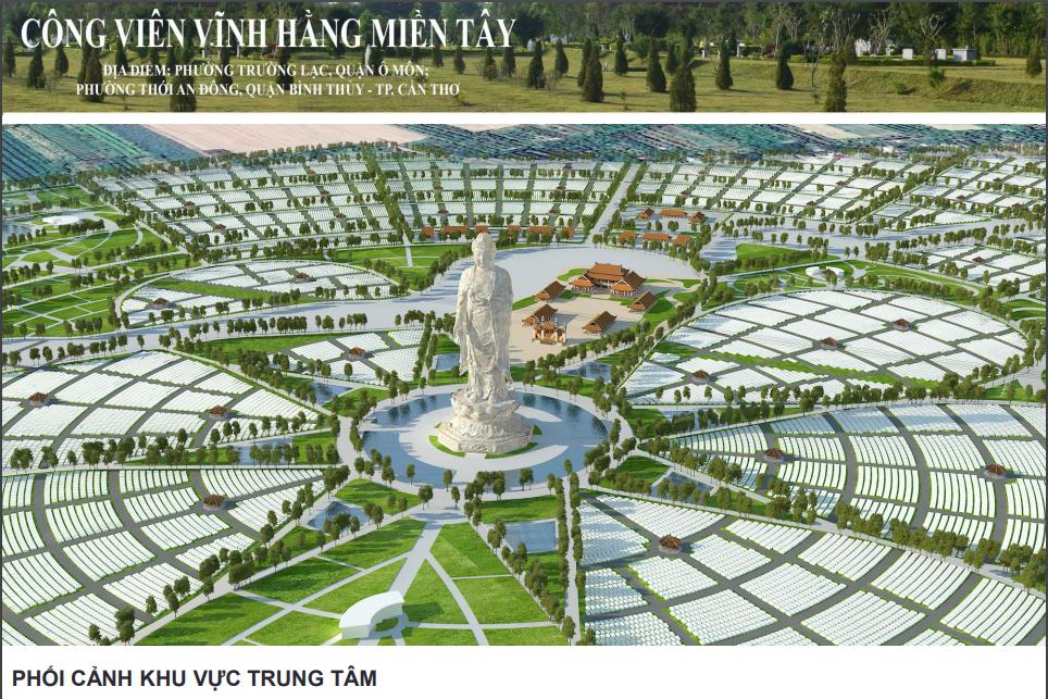 Hội nghị lấy ý kiến dự án Công viên vĩnh hằng miền Tây
