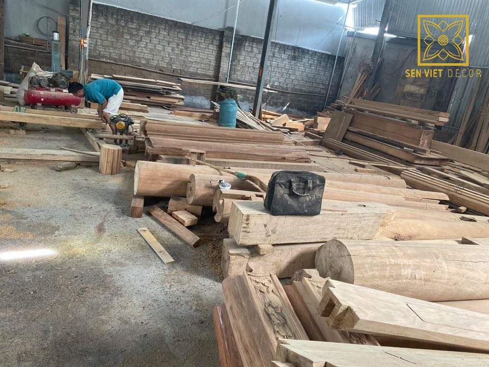 chạm khắc gỗ