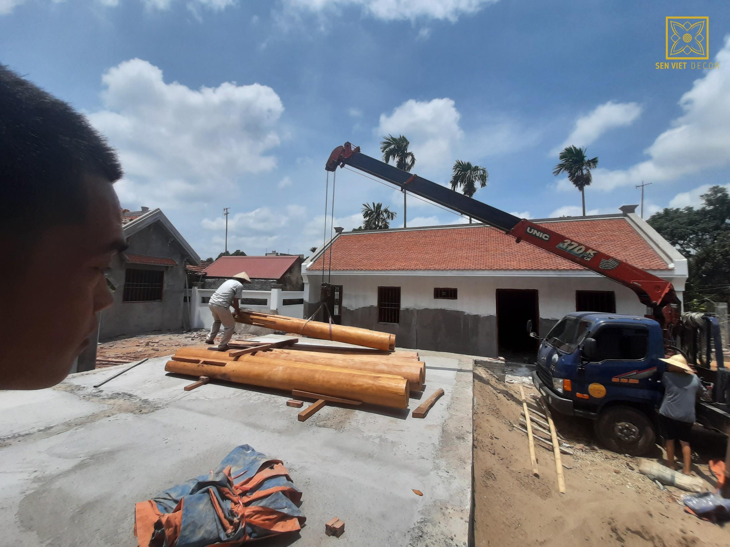 vận chuyển lắp đặt gỗ